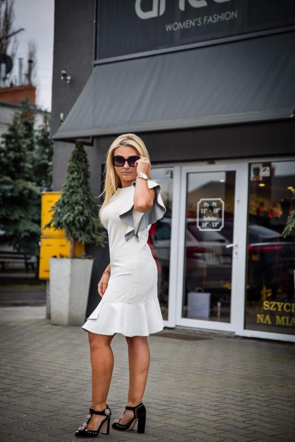 Biala sukienka Anette Women's Fashion